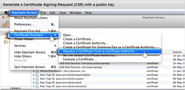 Renew the Apple Push Notification Service (APNS) Certificate