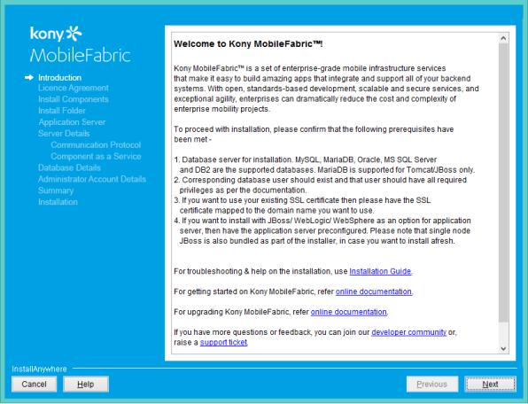 Installing MobileFabric on a Pre-configured Standalone JBoss