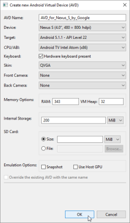 Android SDK and Emulator