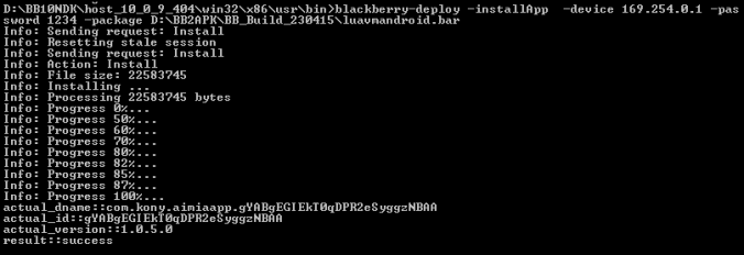 Convert an Android App for Use on a BlackBerry 10 Device