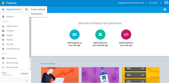 Generating Firebase Cloud Messaging (FCM) Server Key and Sender Id