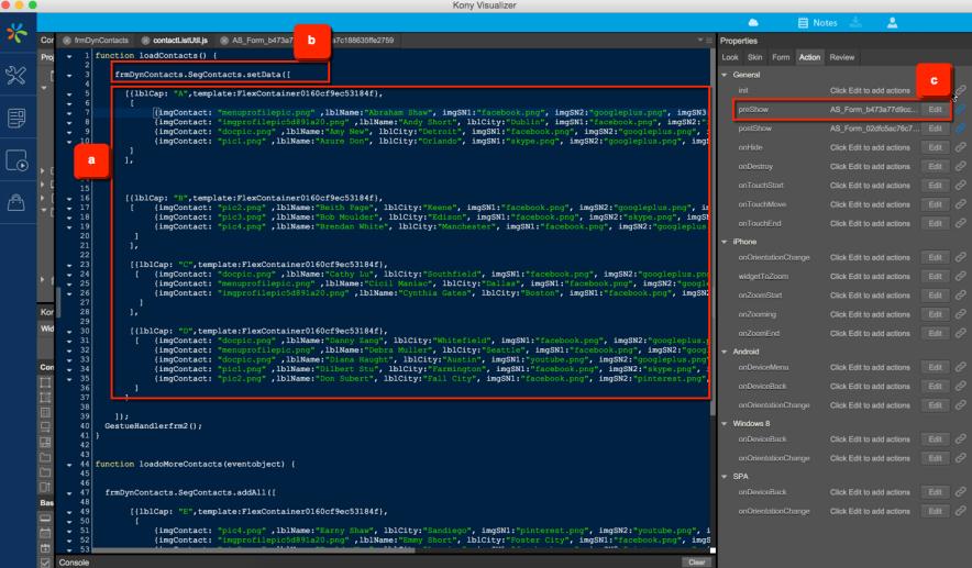 Segment Widget for Developers