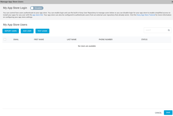 Publishing Native Apps to Enterprise App Store