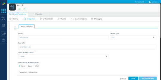 Create a MuleSoft Service