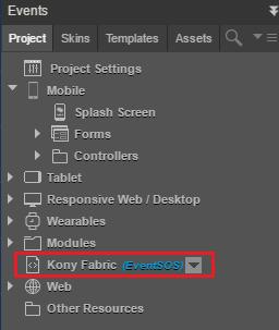 Run the Events Desktop Web App