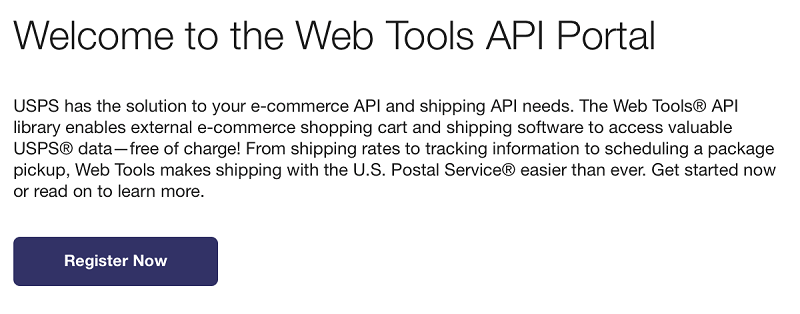 Getting Started with the USPS Data Adapter